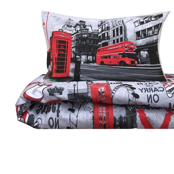 Copripiumino Londra Singolo.Copripiumino Style Londra Misura Singolo Idea Tenda